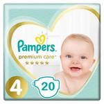 Pampers Premium Care Maat 4 - 20 Luiers