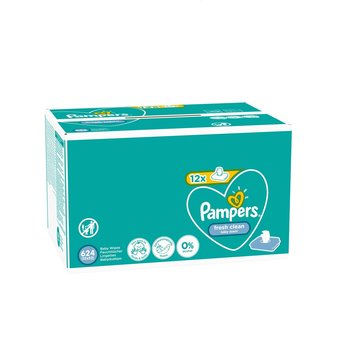 Pampers Fresh Clean Billendoekjes 12x52