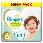 Pampers Pampers Premium Protection maat  6 - 64 luiers