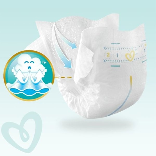 Pampers Pampers Premium Protection New Baby Maat 2 – 31 Luiers