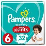 Pampers Pampers Baby Dry Pants Maat 6 - 32 Luierbroekjes