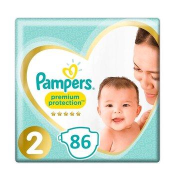 Pampers Premium Protection Maat 2 – 86 Luiers