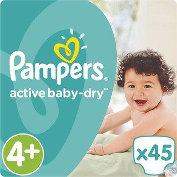 Pampers Active Baby Dry Maat 4+ - 45 Luiers