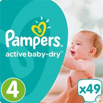 Pampers Active Baby Dry Maat 4 - 49 Luiers