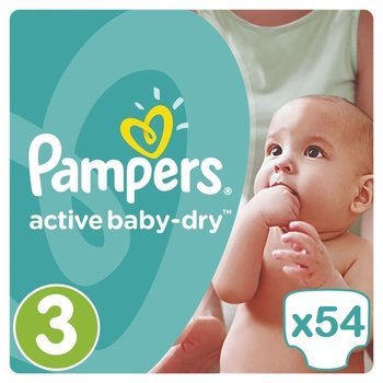 Pampers Active Baby Dry Maat 3 - 54 Luiers