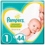 Pampers Pampers Premium Protection Maat 1 - 44 Luiers