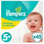 Pampers Pampers Premium Protection Maat 5+ - 45 Luiers