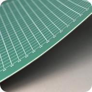 The Perfect Supplies Company Mata do cięcia MAXX XXL zielono / zielona 90 x 120 cm