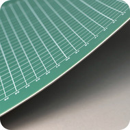 The Perfect Supplies Company Mata do cięcia MAXX XXL zielony / zielony 100 x 200 cm