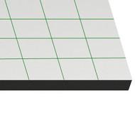 Carton mousse Auto-adhésif  5mm 50x70 auto-adhésif/noir (25 planches)