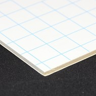 Kapafix 10mm 70x100 auto-adhésif/blanc (12 planches)