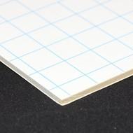 Kapafix 10mm 100x140 självhäftande/vita (12 plattor)