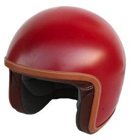 Baruffaldi Zar Vintage Red moottoripyöräkypärä