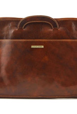 Ruskea nahkasalkku Sorrento⎪Tuscany Leather