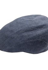 BJ Uomo flat cap one color sininen