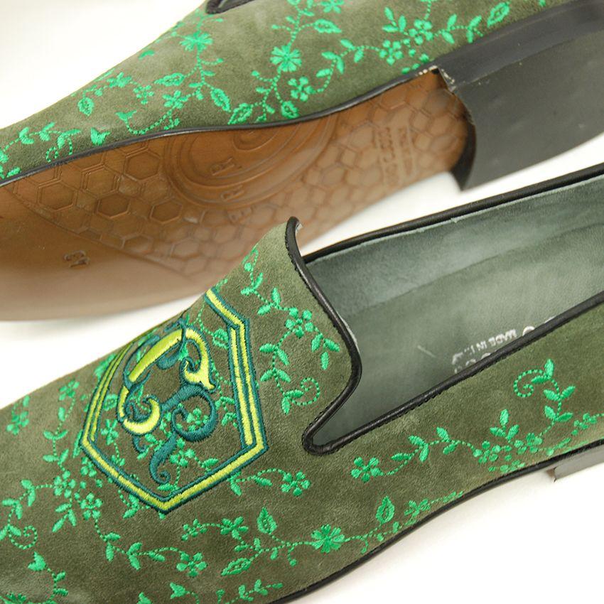 Vihreät loaferit ⎪Cerruti Sergio