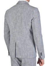 Xagon Man  bleiseri harmaa vaaleilla yksityiskohdilla