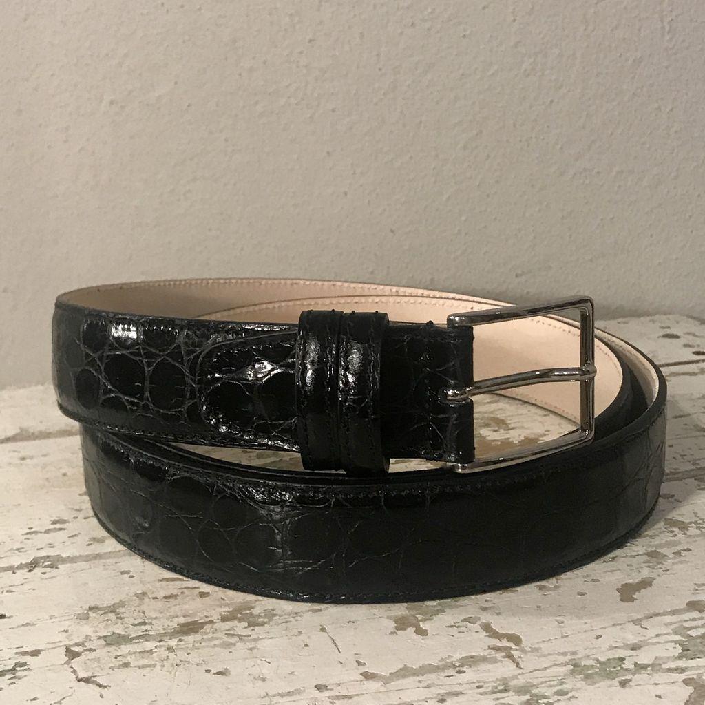 Bochicchio Cinture Stampa nahkavyö musta