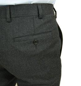 Tummanharmaat suorat housut ⎪Posillipo 1930