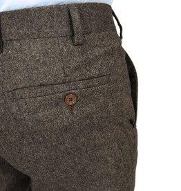 Ruskeat suorat housut No 285⎪Posillipo 1930
