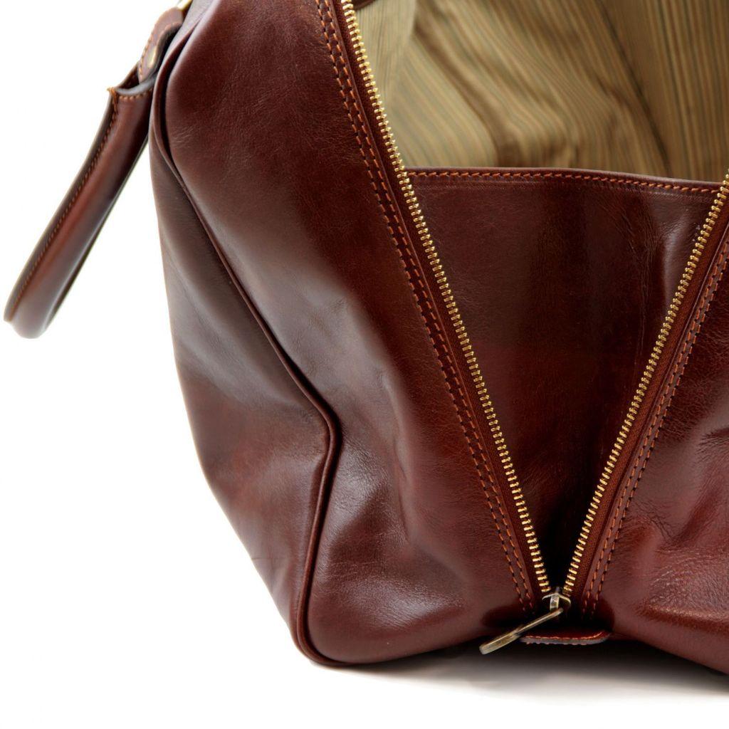 Tuscany Leather TL Voyager nahkalaukku ruskea