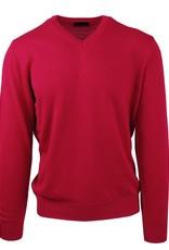 Malagrida neulepaita v-kaulus punainen