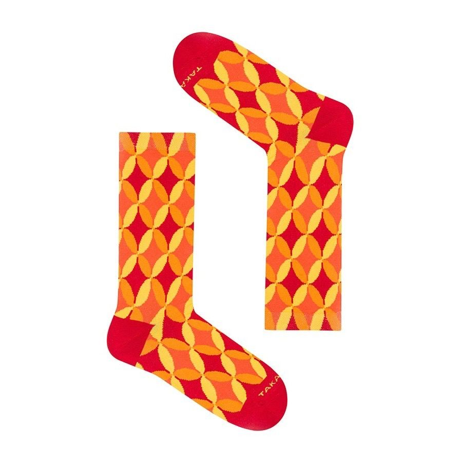 Takapara värikkäät sukat U4M4