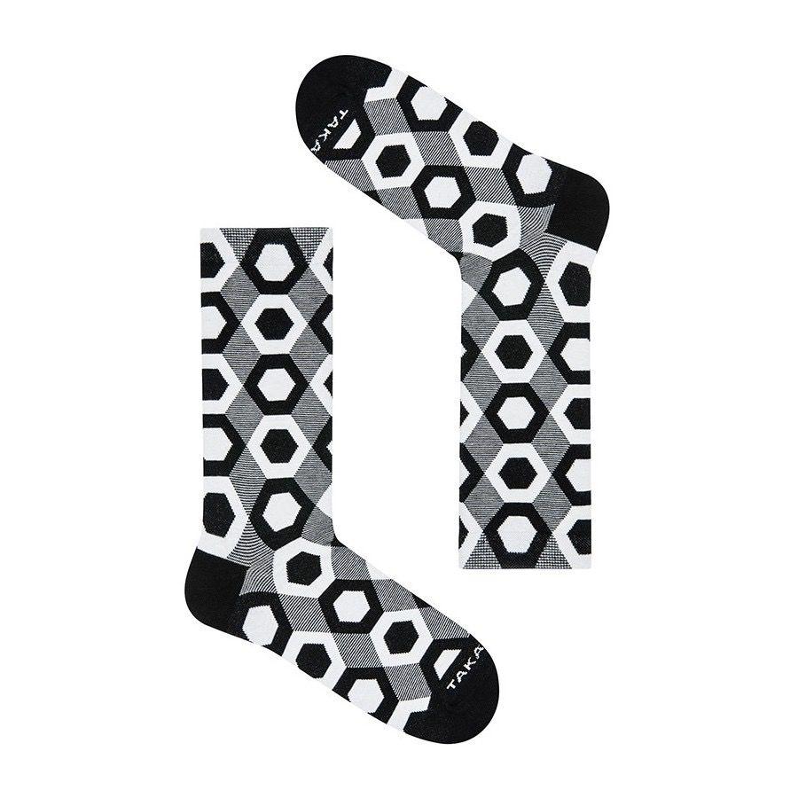 Takapara värikkäät sukat lahjapakkaus 80D