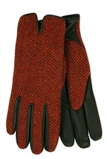 Punaiset tweed lampaannahkahanskat⎪Chester Jefferies