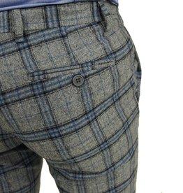 Exibit Grandi housut harmaa ruudullinen
