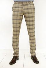 Exibit Grandi housut ruskea ruudullinen
