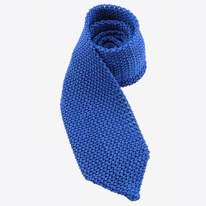 DMties Amalfi neulesolmio silkki sininen