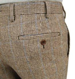 Posillipo 1930 housut ruskea ruudullinen