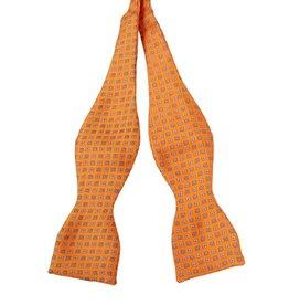 Andrew's Ties Milano solmittava rusetti oranssi