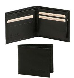 Tuscany Leather 3-fold nahkalompakko musta