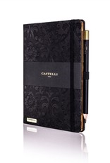 Castelli Italy muistikirja Baroque Ivory Black