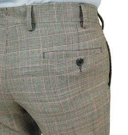 Harmaat ruudulliset suorat housut No 602⎪Posillipo 1930