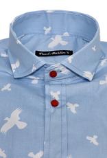 Paul Martin´s Ucello kauluspaita sininen