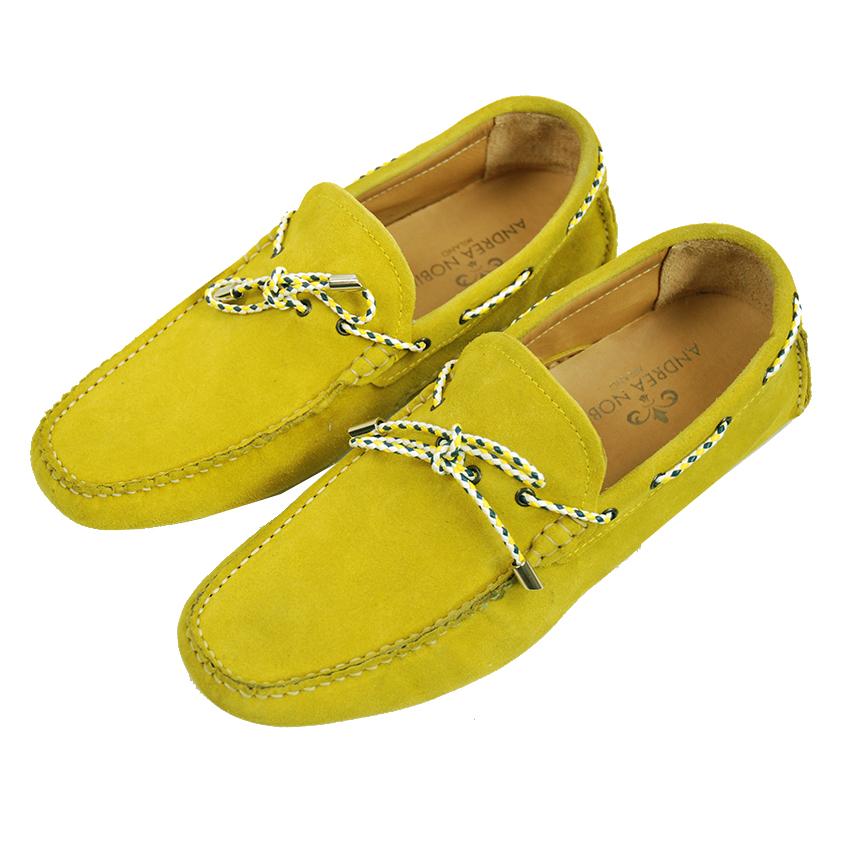 Andrea Nobile mokkasiinit keltainen