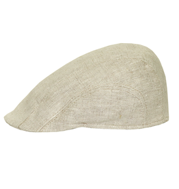 Bojua Epomeo flat cap pellava beige