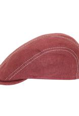 Bojua Posteca flat cap pellava punainen