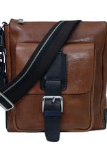 Chiarugi Vico messenger laukku ruskea