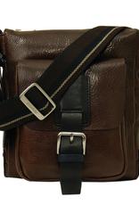 Chiarugi Vico messenger laukku tummanruskea