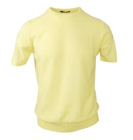Exibit lyhythihainen neulepaita keltainen