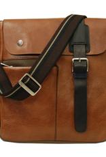 Chiarugi Posteca messenger laukku ruskea