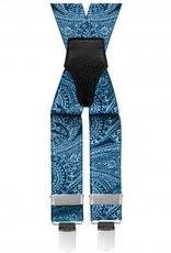 Brucle henkselit Paisley sininen