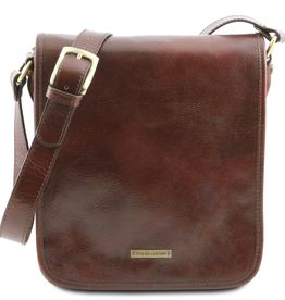 Tuscany Leather Messenger laukku ruskea
