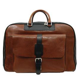 Vaaleanruskea nahkainen matkalaukku ⎪Chiarugi