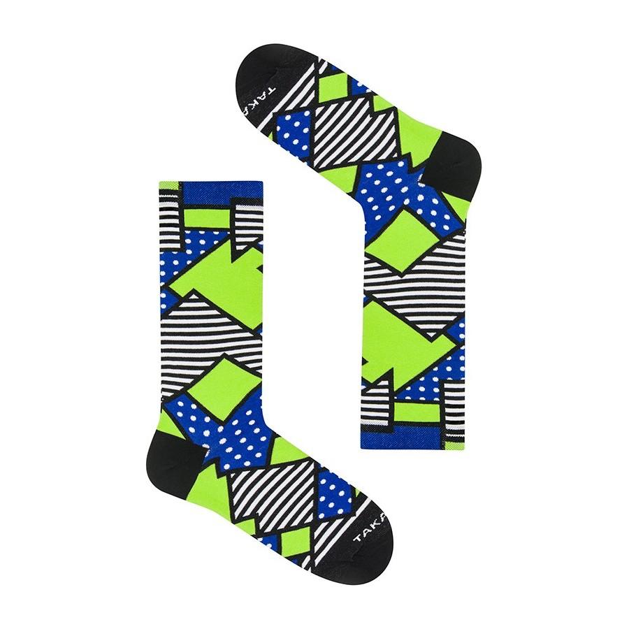 Takapara värikkäät sukat U5M2