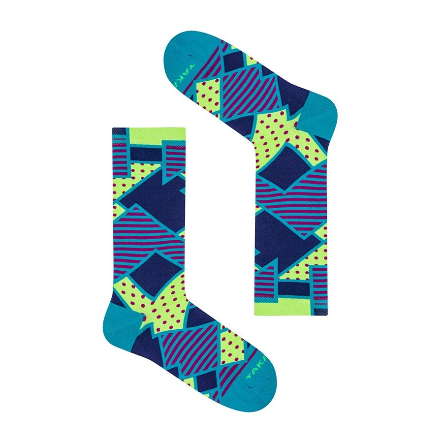 Takapara värikkäät sukat U5M8
